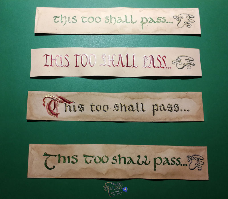 This Too Shall Pass Bookmark